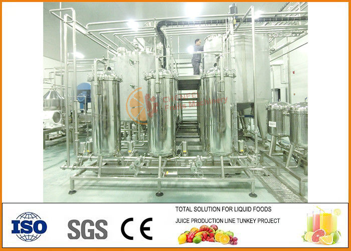 Fruit Wine Making Machine 2000T Year Complete CFM-W02-2000t  ISO9001 Certification