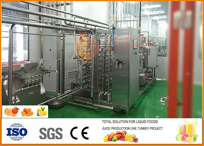 Small Orange Juice Processing Line 5 T/H Capacity CFM-A-02-352-102