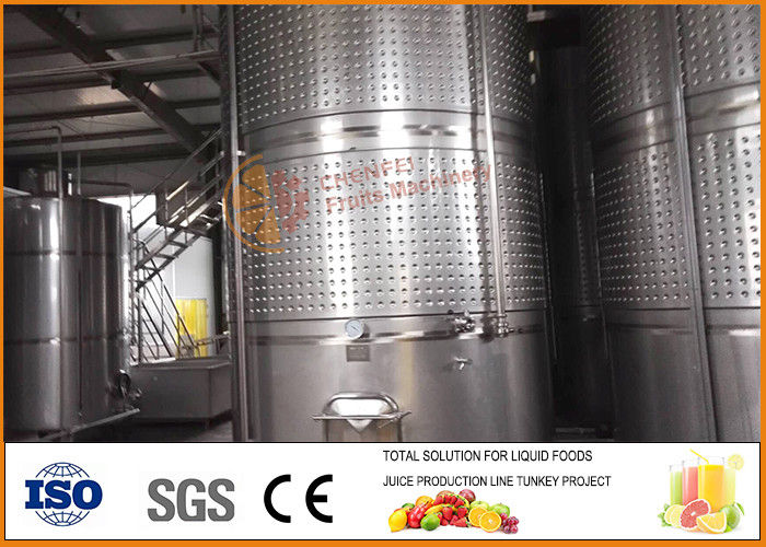 Automated  Wine / Tea Fermentation Equipment Stainless Steel Material CFM-W02-2000t